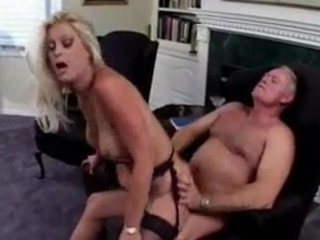 man gives his slutty maiden a special butt