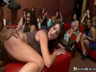 super desperate lady copulates boy stripper at