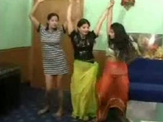 3 funny indian bitches dancing exposed