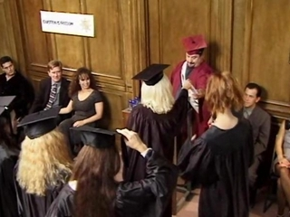 bamboo and the sluts graduate from whore college