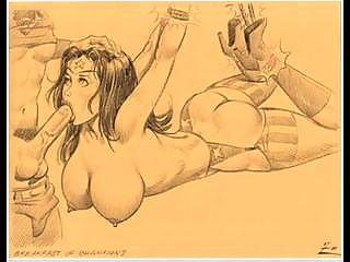 giant tits milfs licking comics