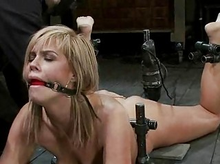 french angel bound and dual penetrated