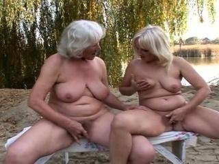 lovely homosexual woman grannies fervent cave joy