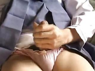 ladyboy gf cums alot!