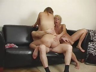 amateur granny three people