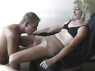 young crossdresser and his boyfriend filming