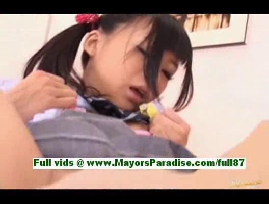 chika ishiharateen japanese angel acquires a dick