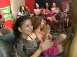 random cock sucking at celebration