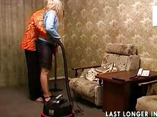 cougar inexperienced fuck after cleaning
